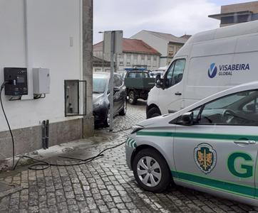 Visacasa instalou carregadores para veículos elétricos da GNR