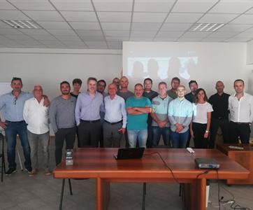 CEO do Grupo Visabeira visitou a IEME, empresa italiana da Constructel Europa