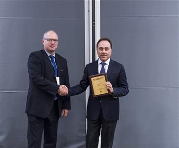 """Constructel Dinamarca premiada com o """"Best Quality Award"""" na convenção anual de parceiros da Huawei"""