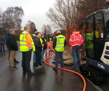 Constructel iniciou construção de rede de fibra ótica em Copenhaga  na Dinamarca