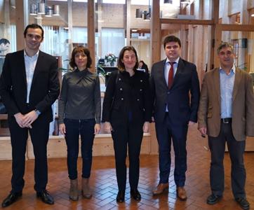 Embaixadora de Portugal na Dinamarca conheceu a Constructel
